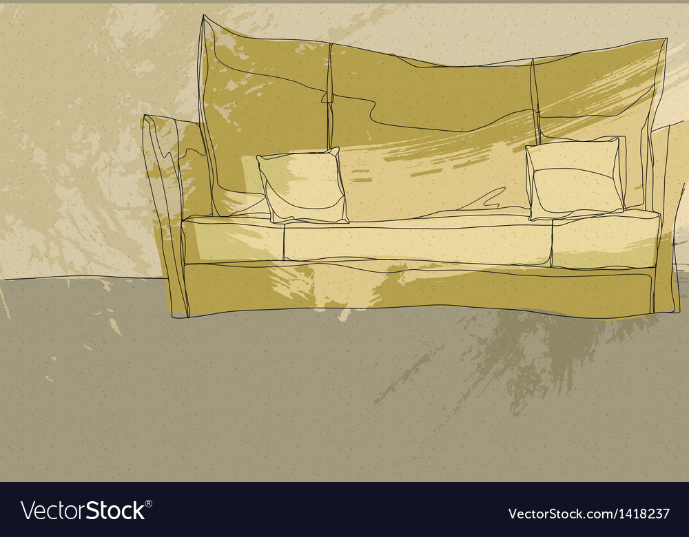 Sketch Couch background