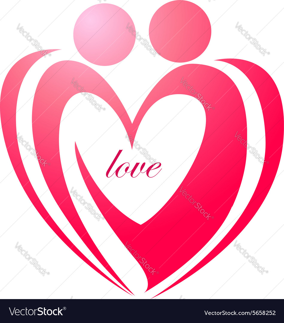 Love forever symbol or icon