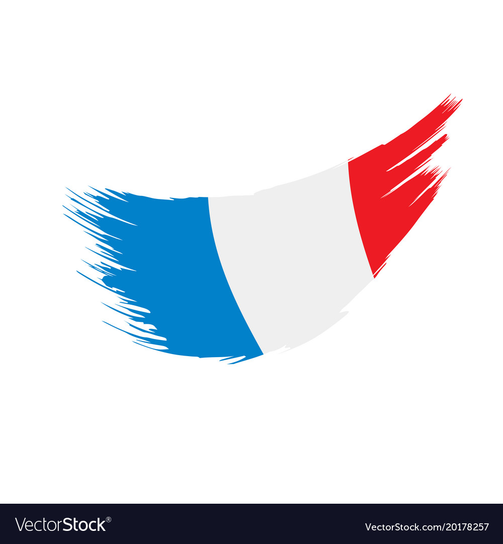 france flag royalty free vector image vectorstock