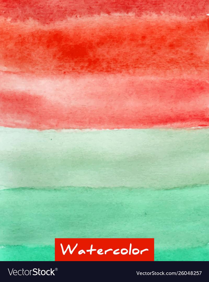 Multicolor striped watercolor hand drawn