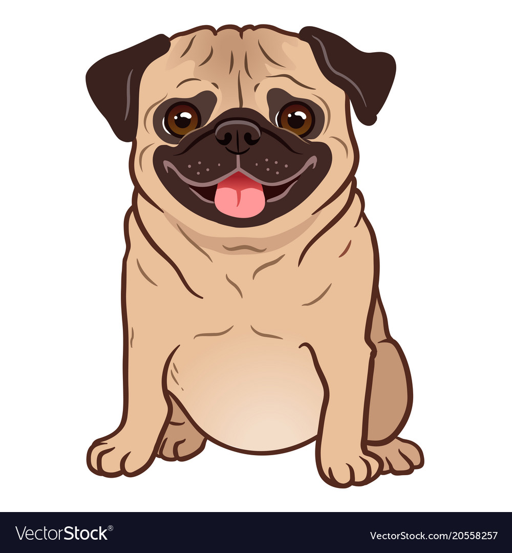 Cartoon Fat Dog Pictures