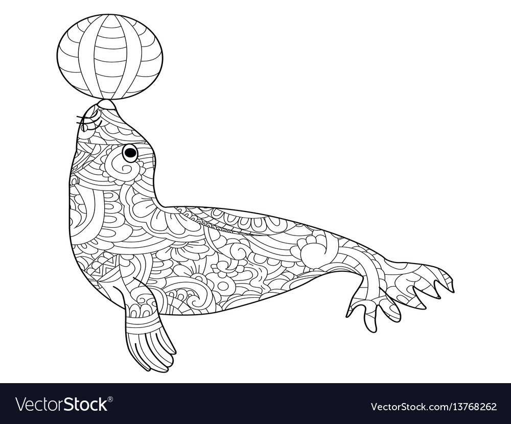 Leopard Seal - Friv Free Coloring Pages For Children - Leopards ... | 830x1000