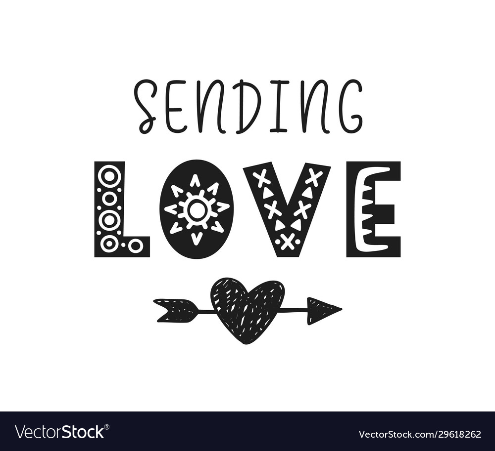 Sending love valentines day gift card