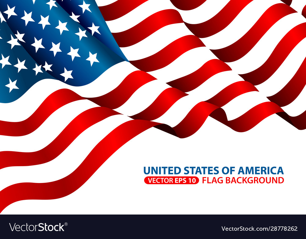 United state america flag background
