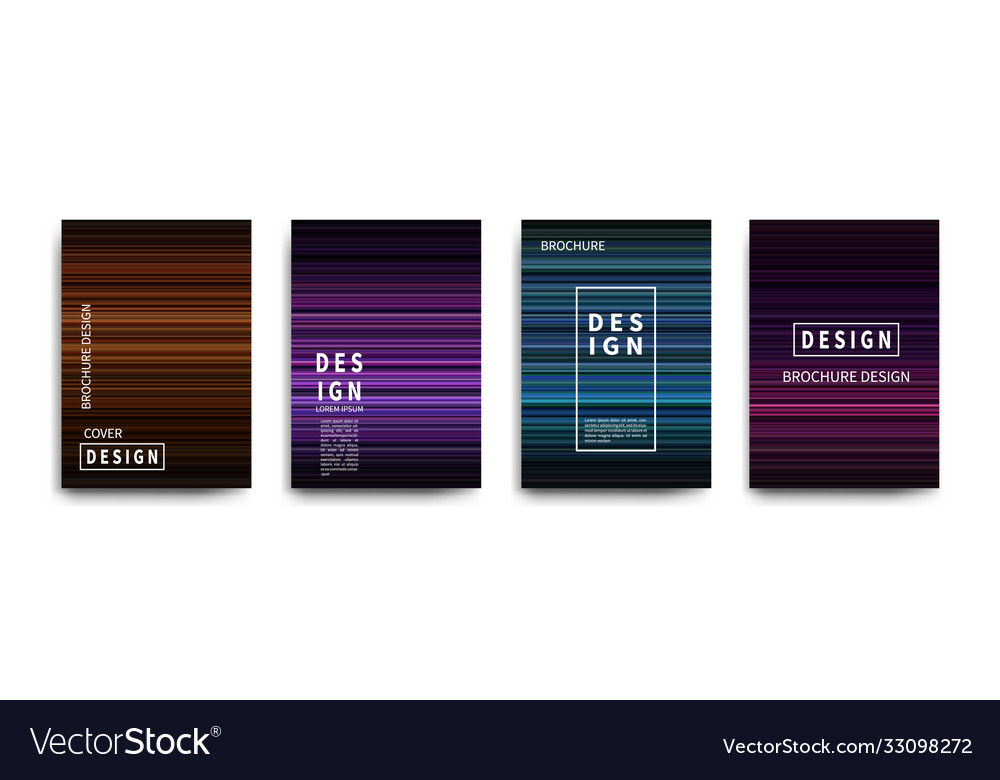 Abstract covers design gradient creative