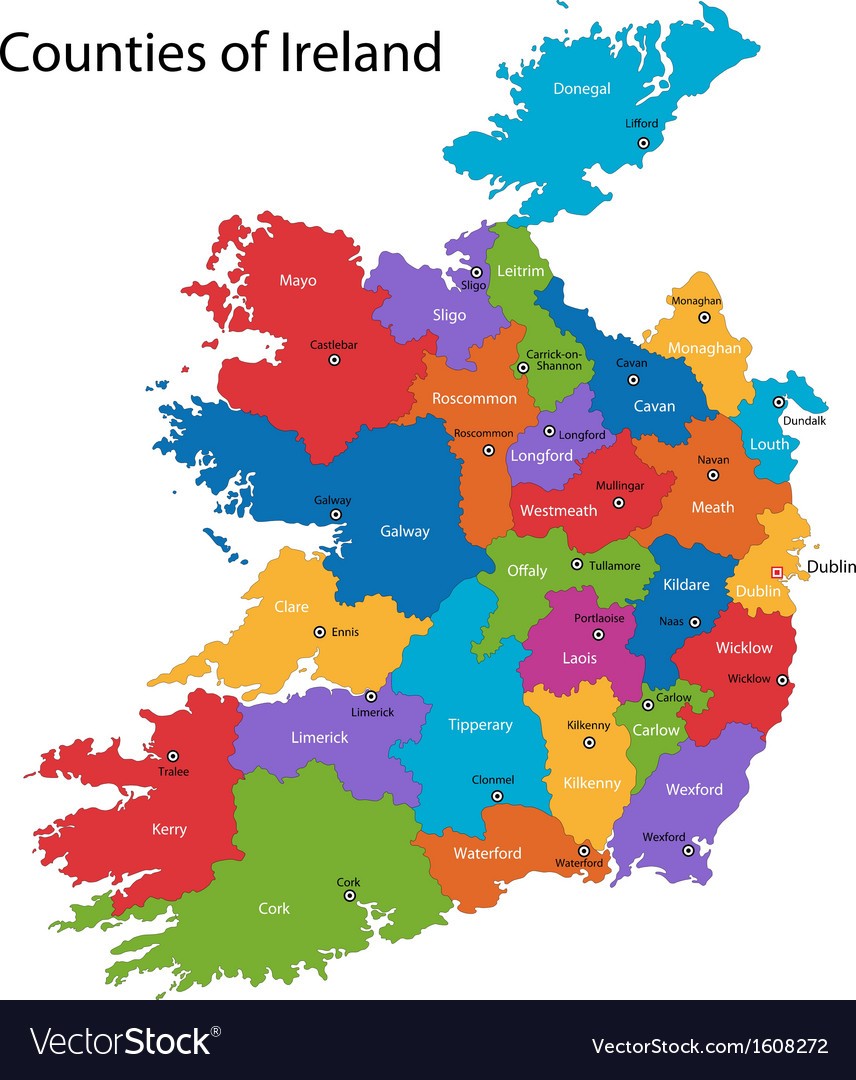 Blank Map Of Ireland Counties.Ireland Map