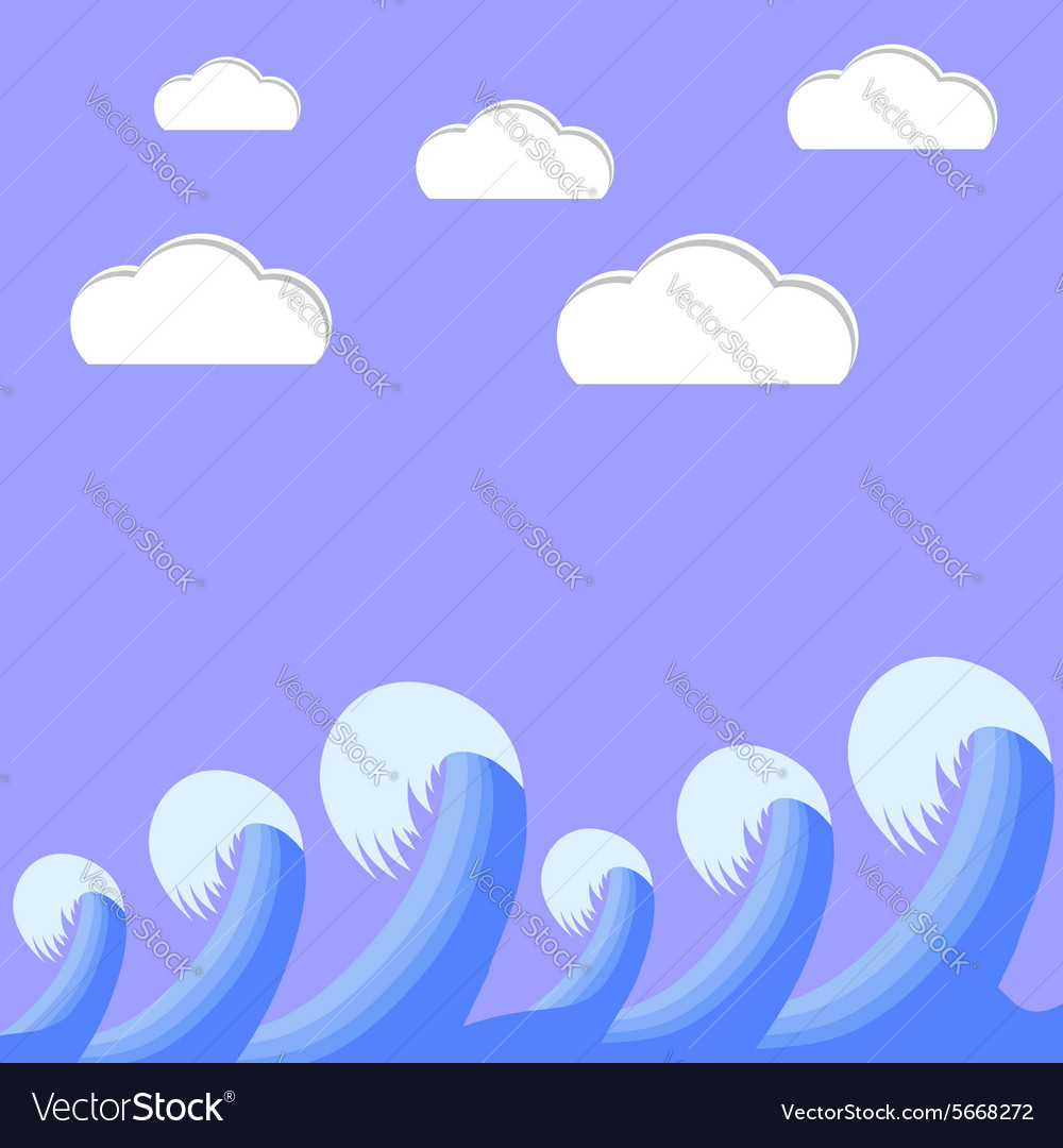 Sea Weaves vector image