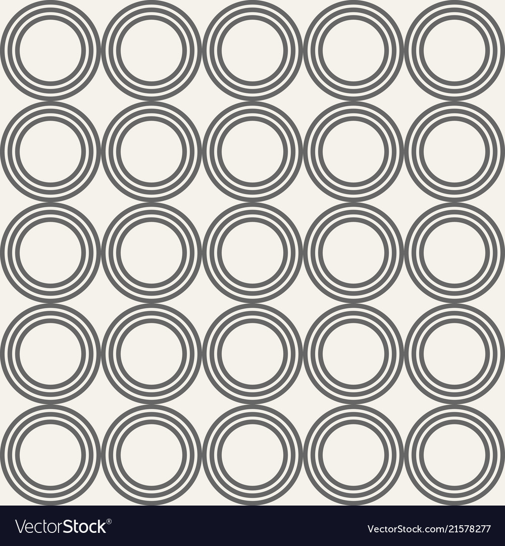 Abstract seamless pattern of circles