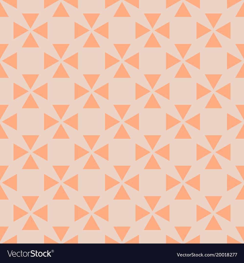Tile pattern with orange background