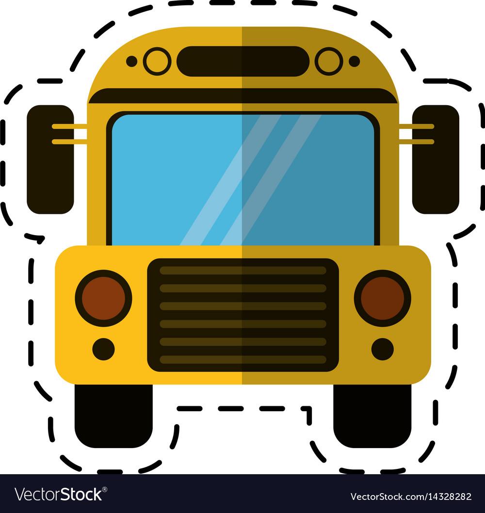 cartoon school bus transport design royalty free vector rh vectorstock com bus victoria to nanaimo bus victorville ca