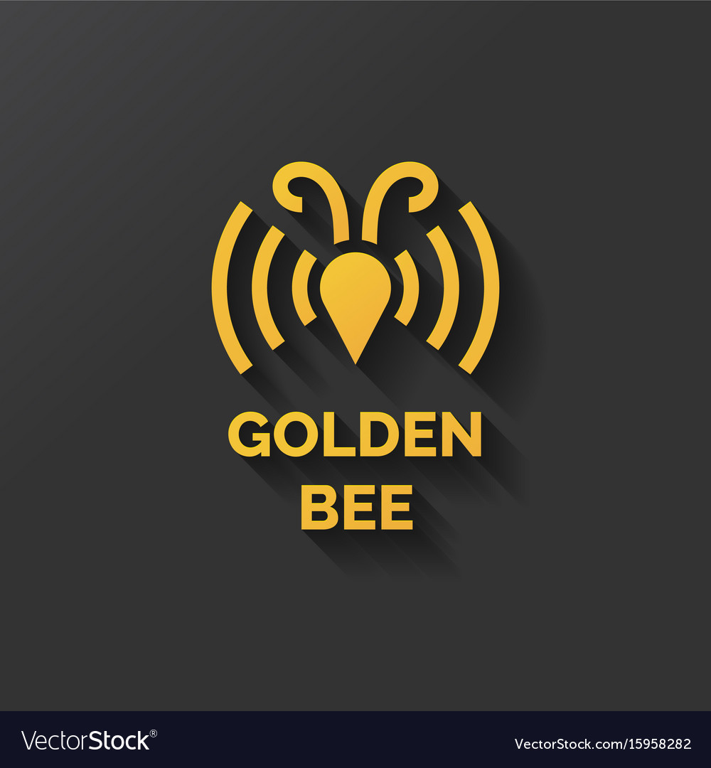Logo of bee honey