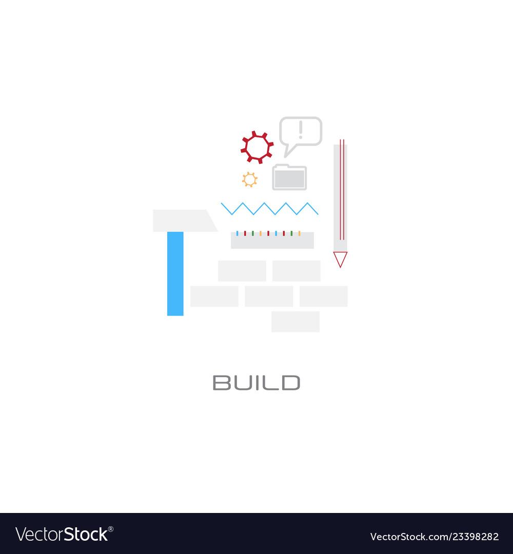 New idea inspiration build construction concept