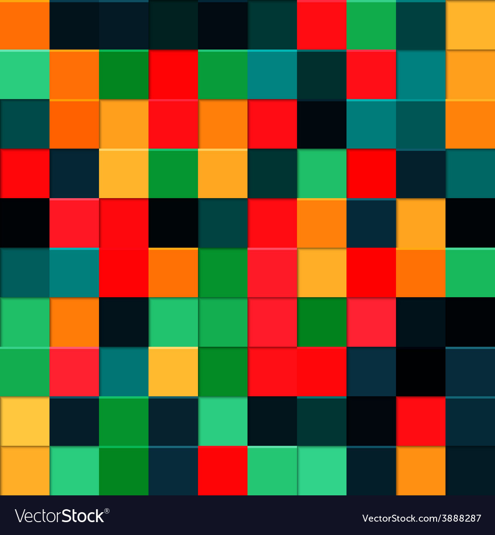 Abstract squares background EPS10