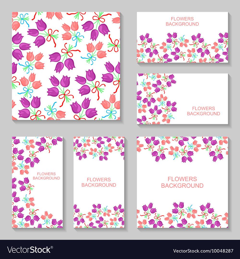 Bouquets backg set2