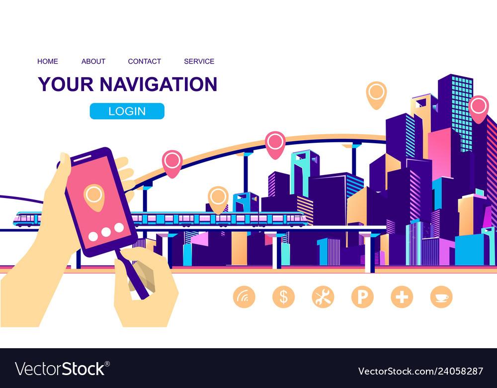 Concept city navigation