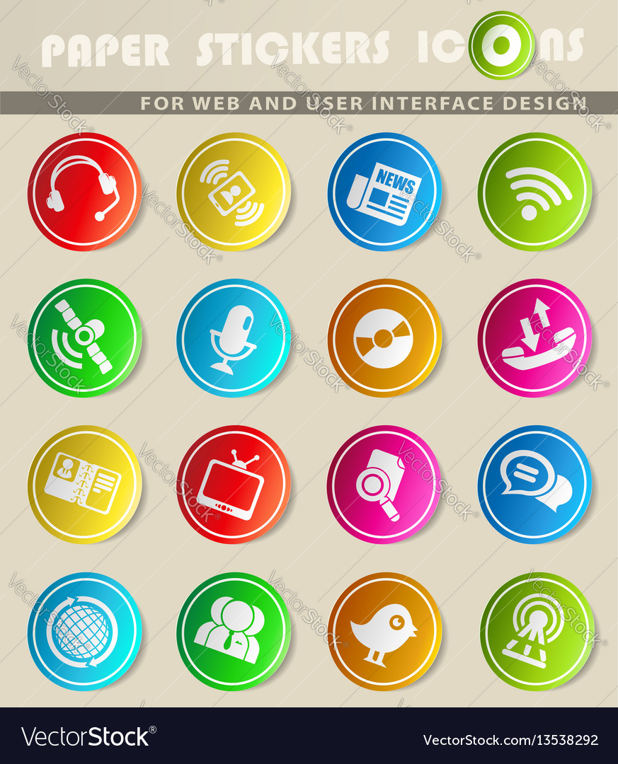 Communication icon s