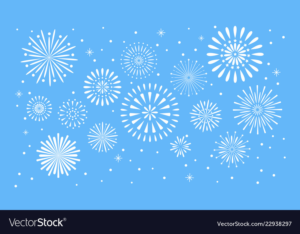 Fireworks explosion celebration fuego fire or