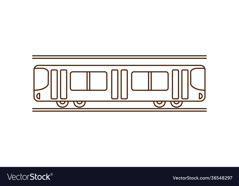 Simple subway icon