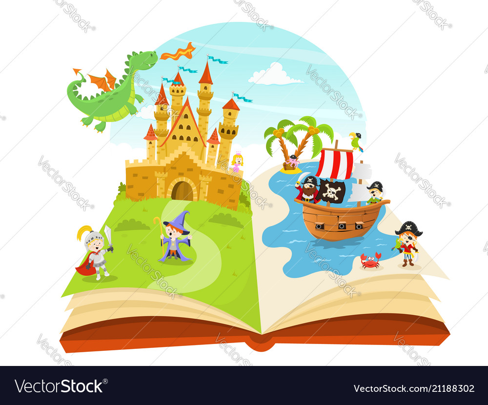 Fairy tales pop up book
