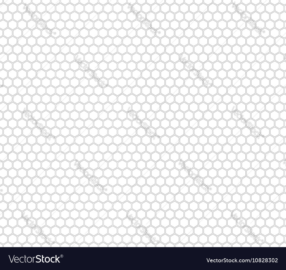 Honey comb seamless pattern