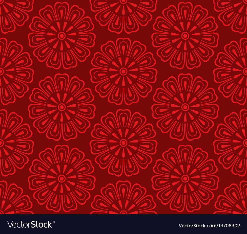 Seamless korean pattern