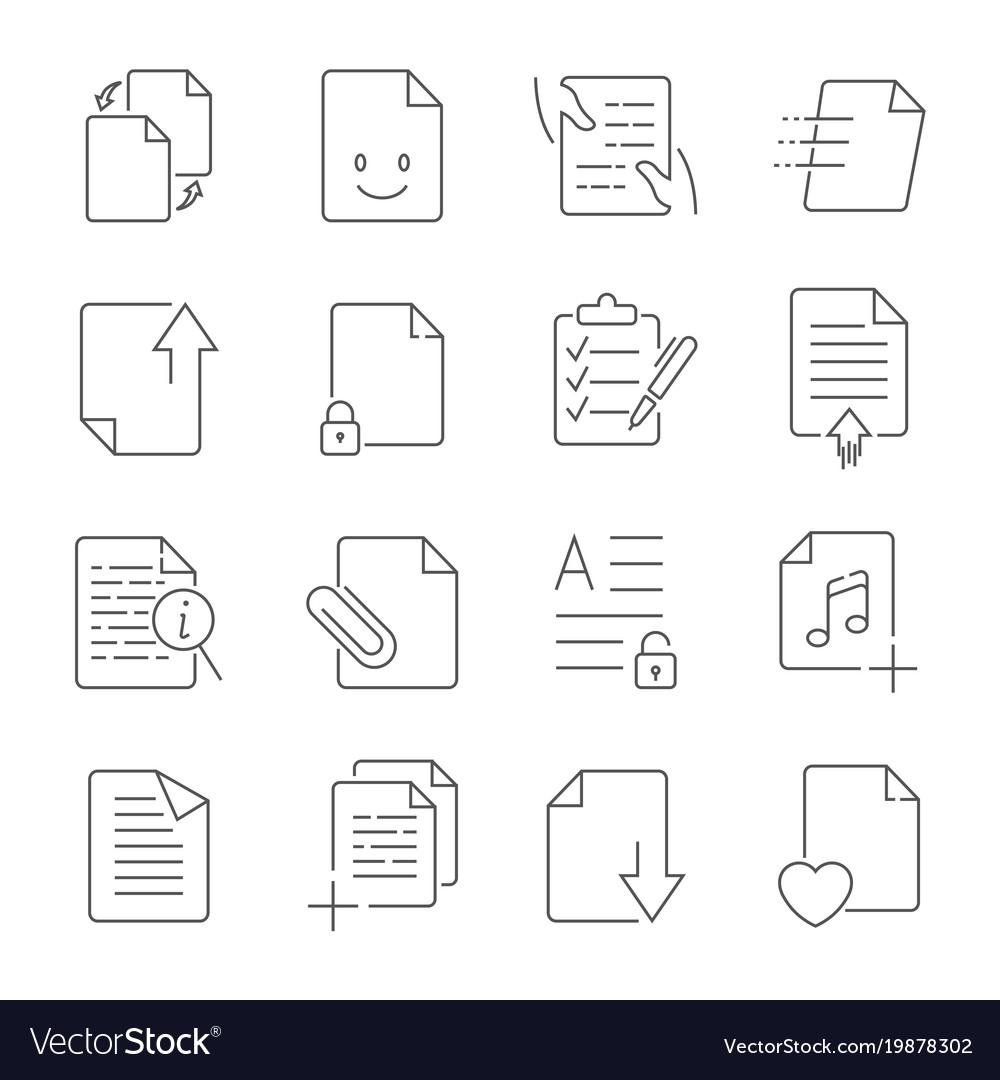 Simple set of document flow management line