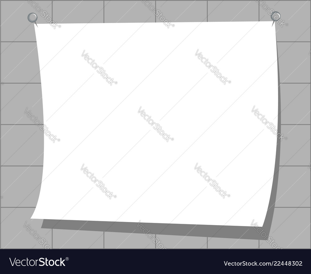White curved paper with copy space for text