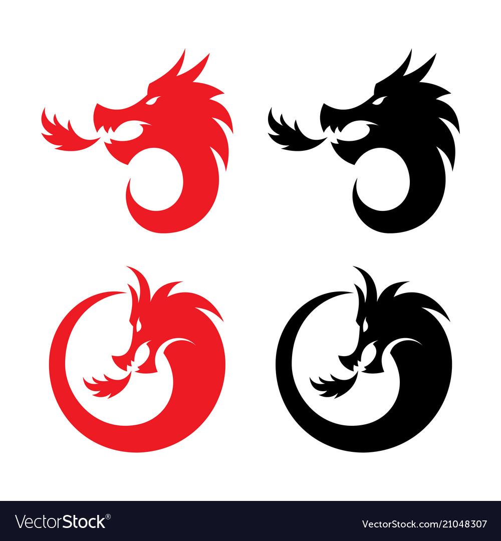 Round fire dragon