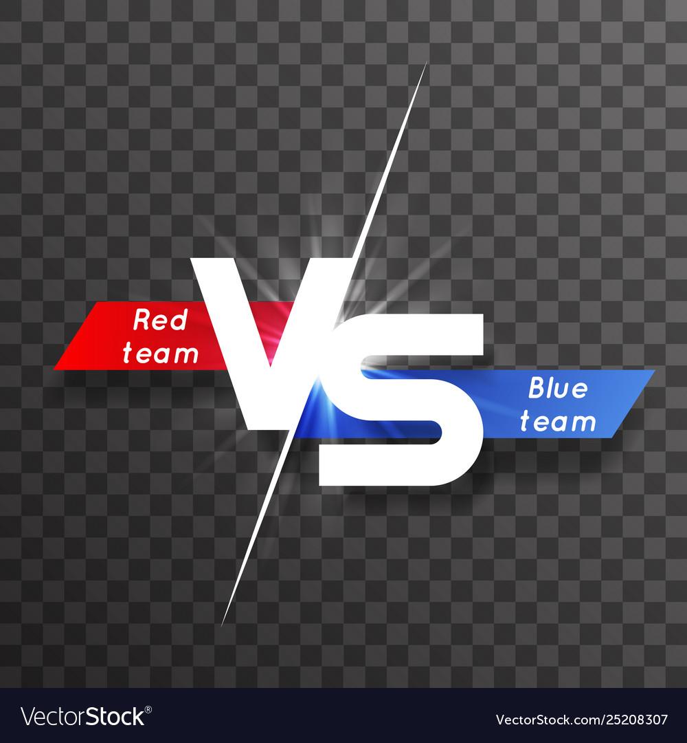 Vs white letter energy conflict game versus screen