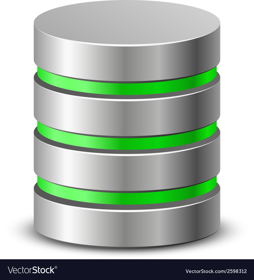 Database icons Royalty Free Vector Image - VectorStock  Database Icon