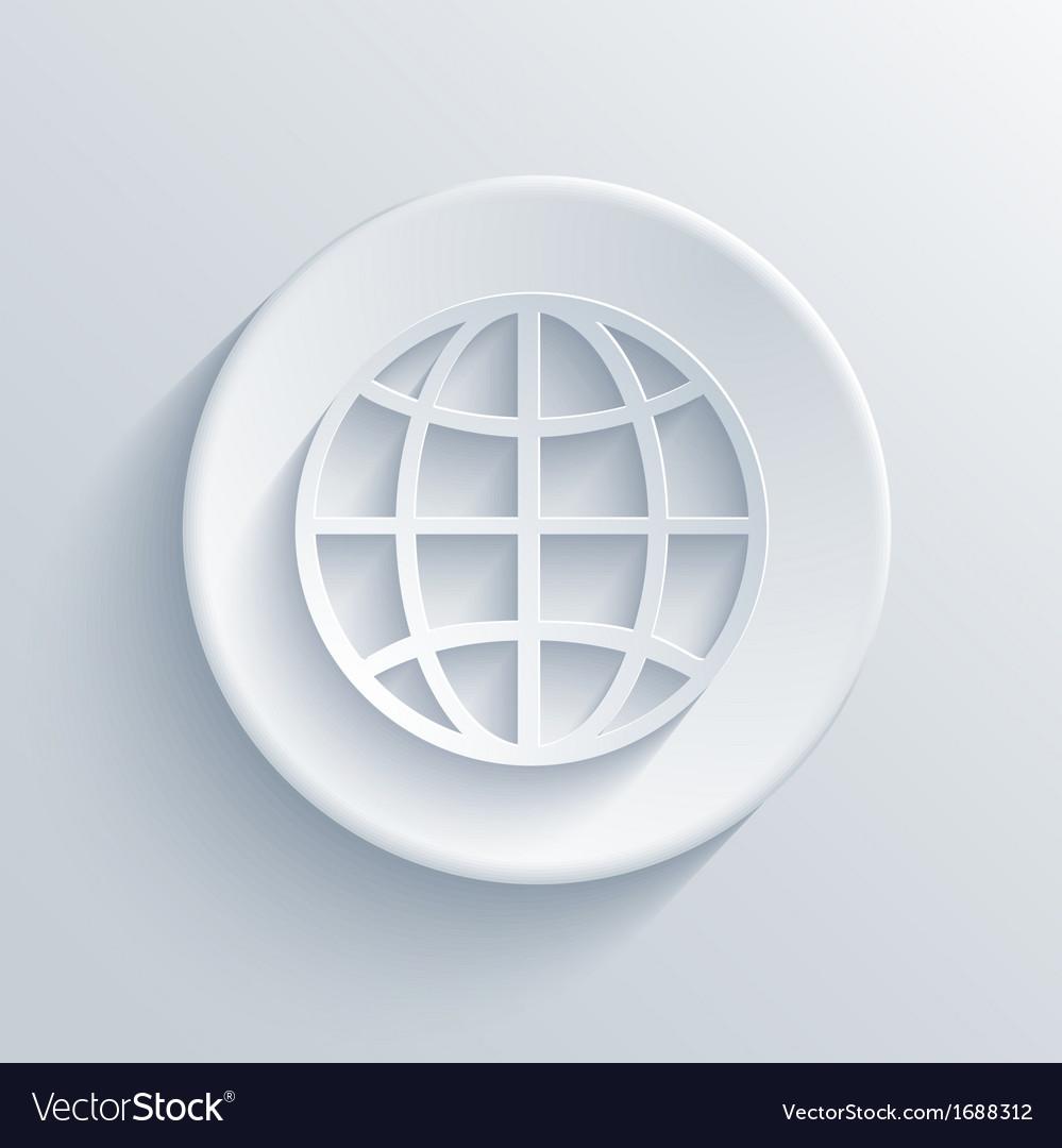 Light circle icon Eps10