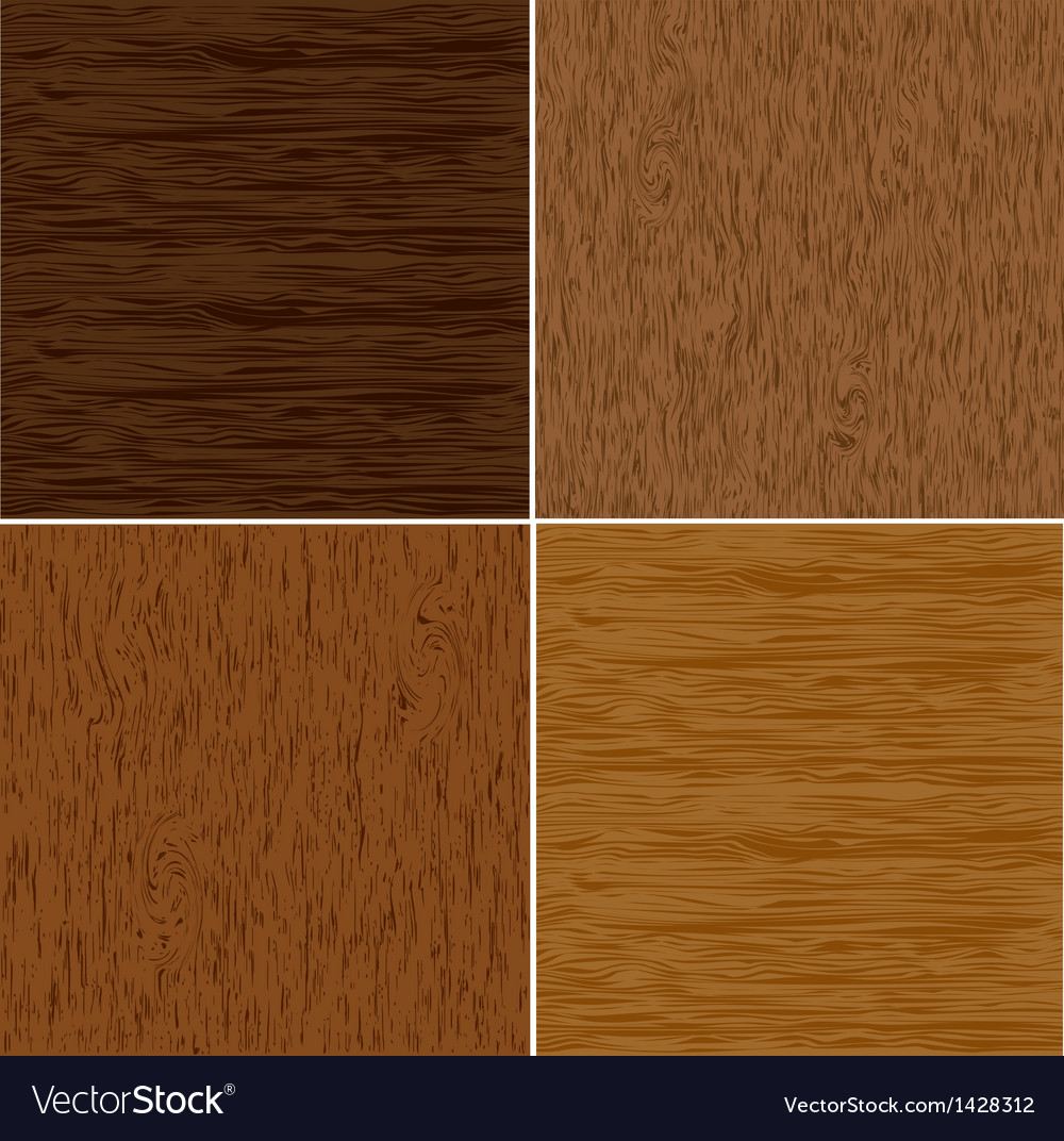 Set wood seamless backgrounds