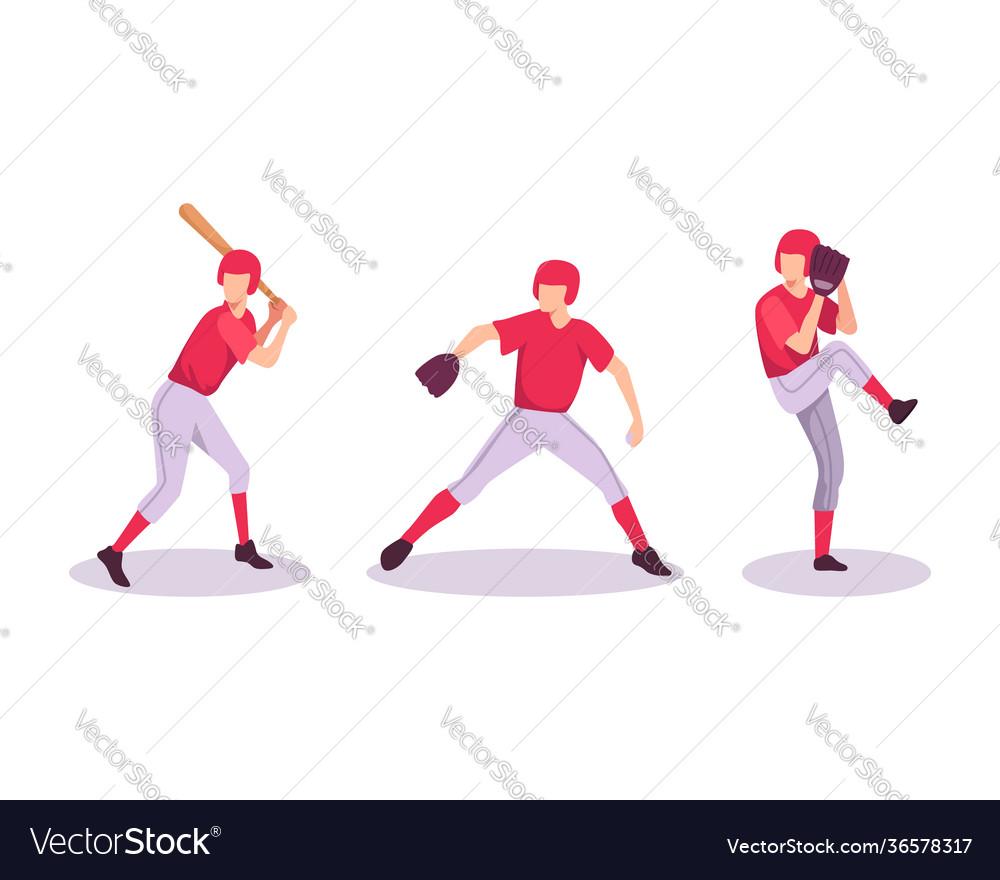 Baseball sport athlete concept