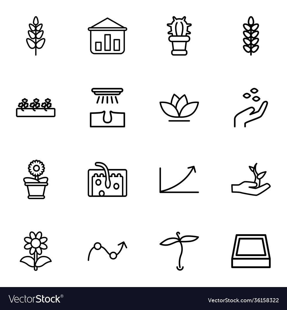 Grow icons