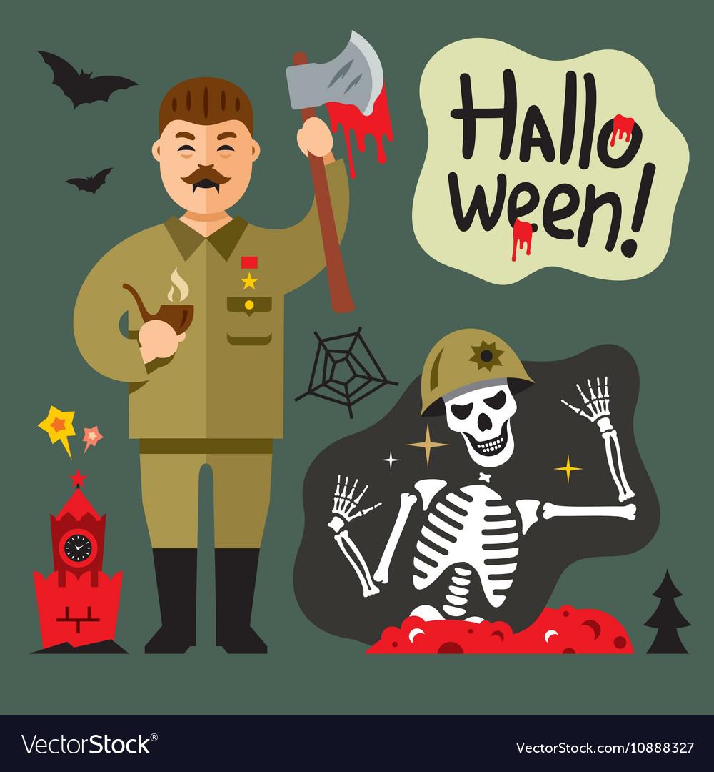 Halloween Zombie Cartoon