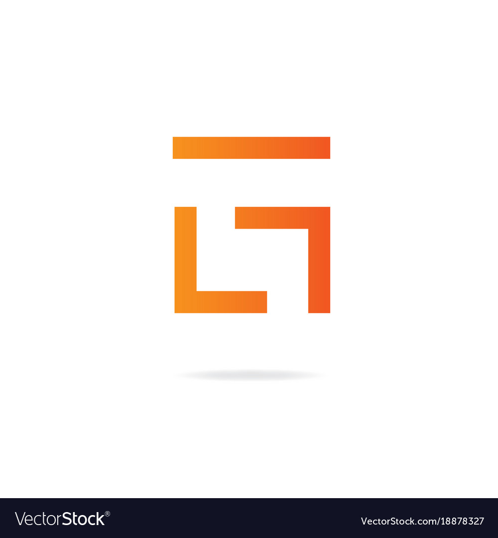 Letter g logo design template elements vector image