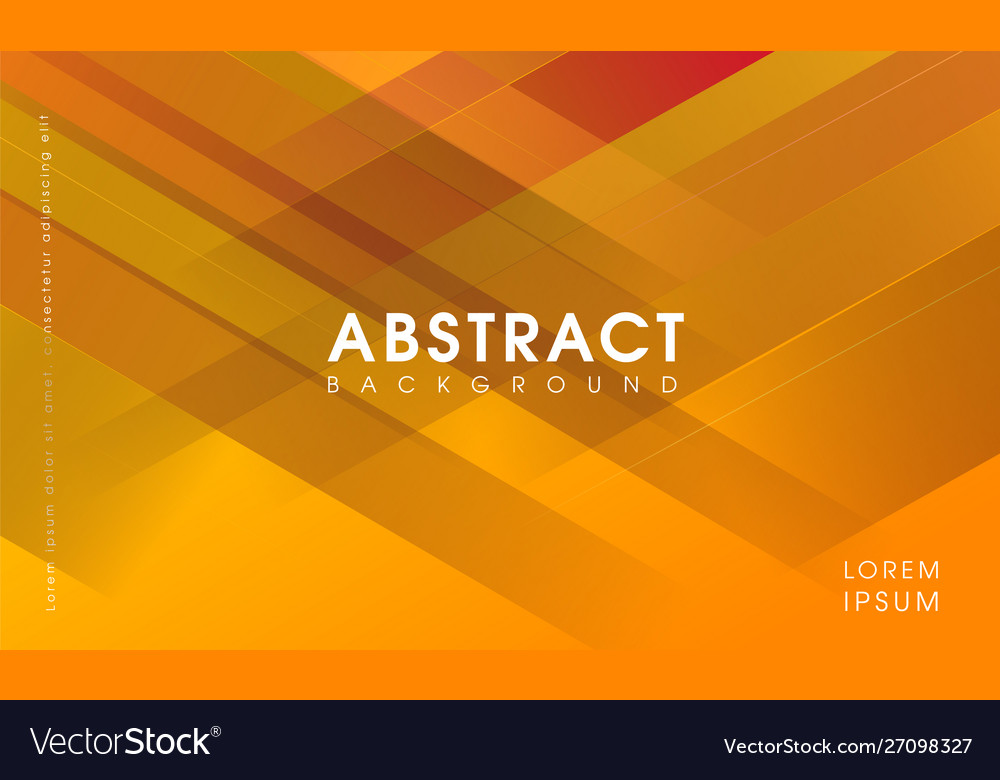 Modern yellow abstract creative background