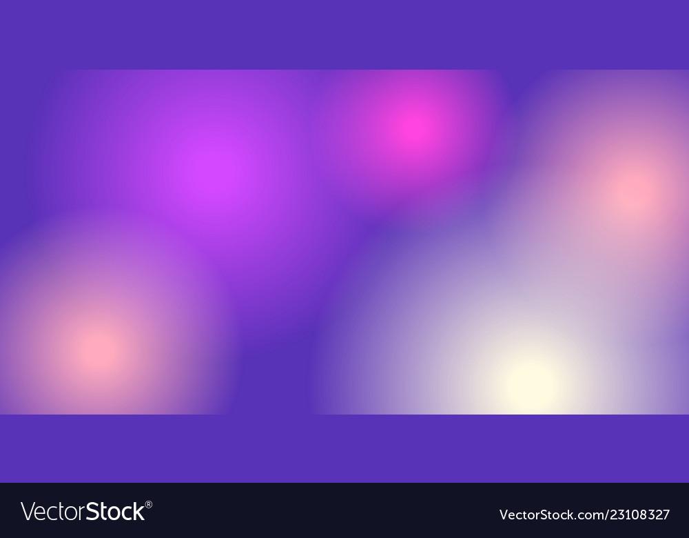 Round neon background