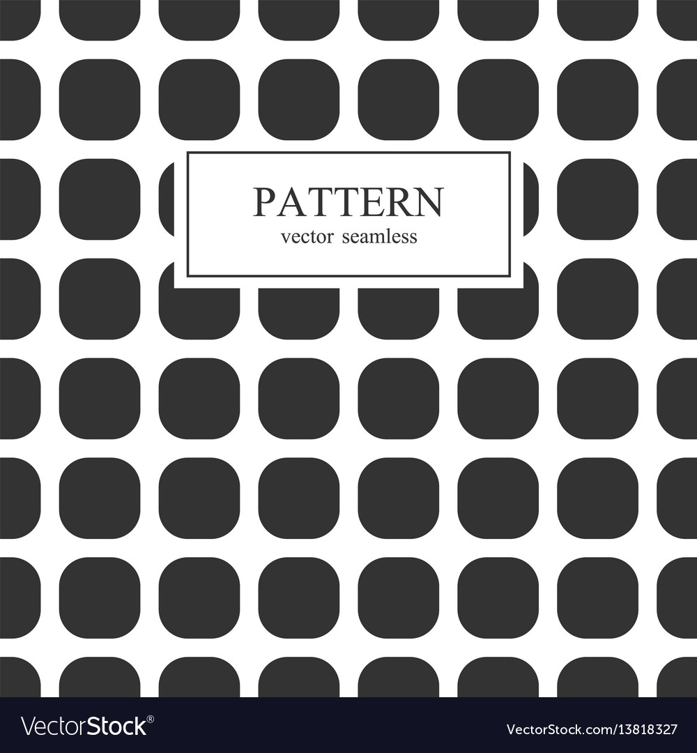Square seamless geometric patterns vector image