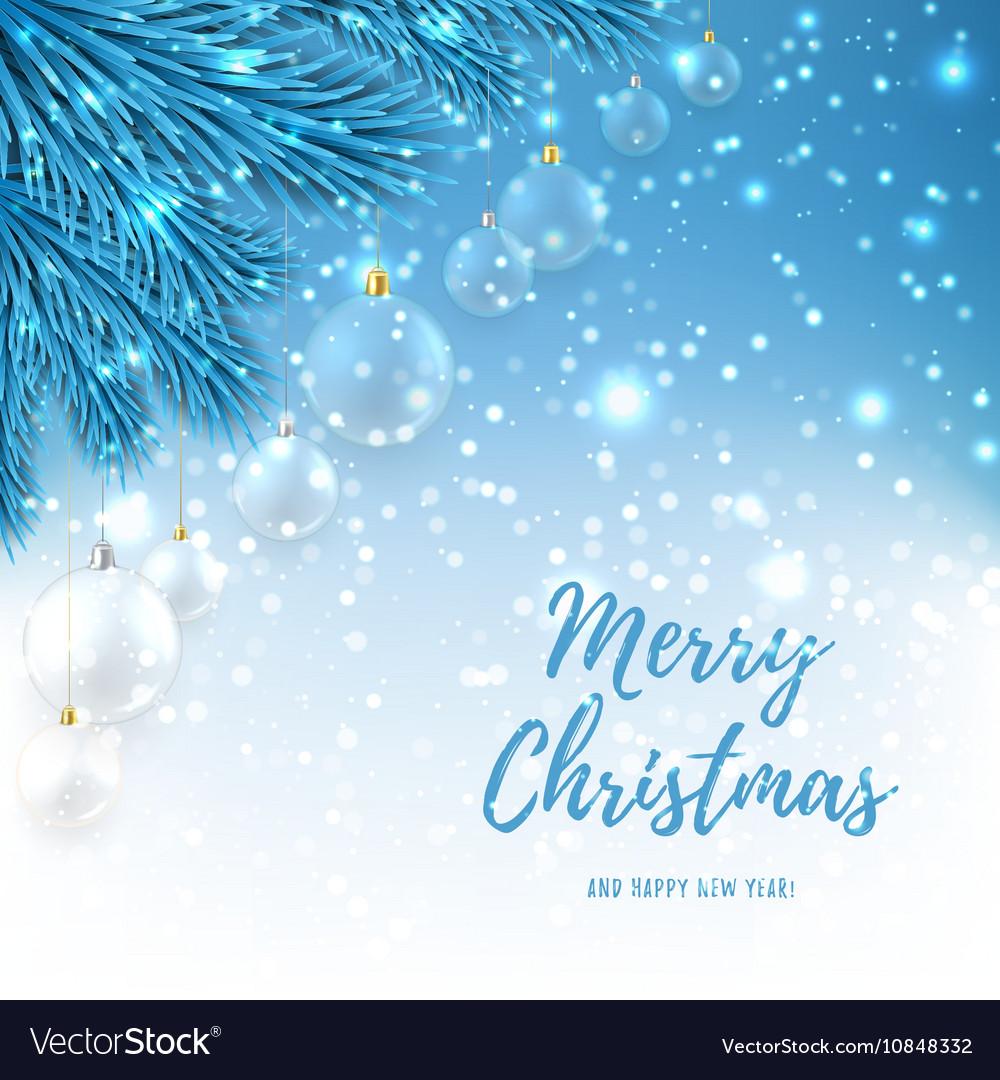 Elegant Christmas Background Hd.Elegant Christmas Background With Glass Balls