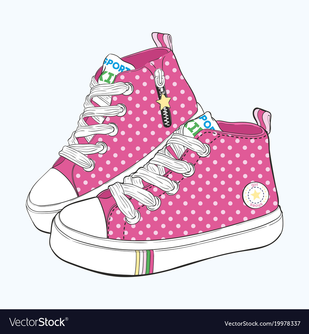 Childrens sneakers set