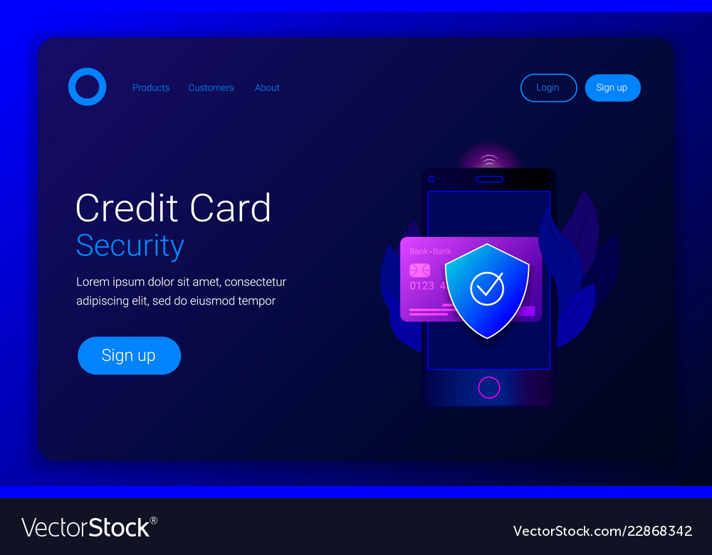 Financial protection credit card