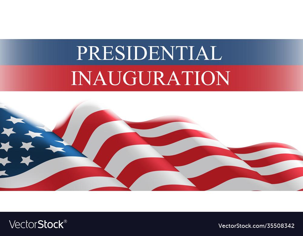 Usa presidential inauguration day celebration