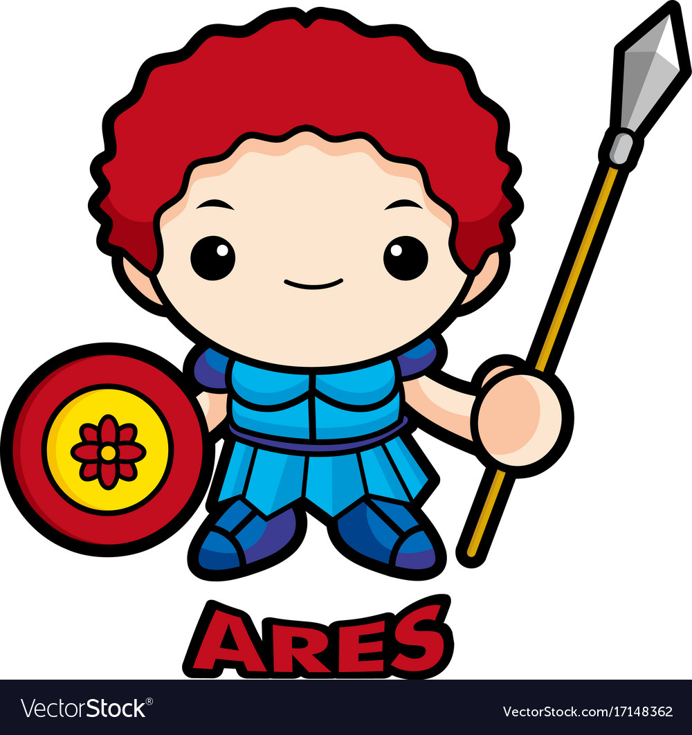 Ares God Vector Images 58