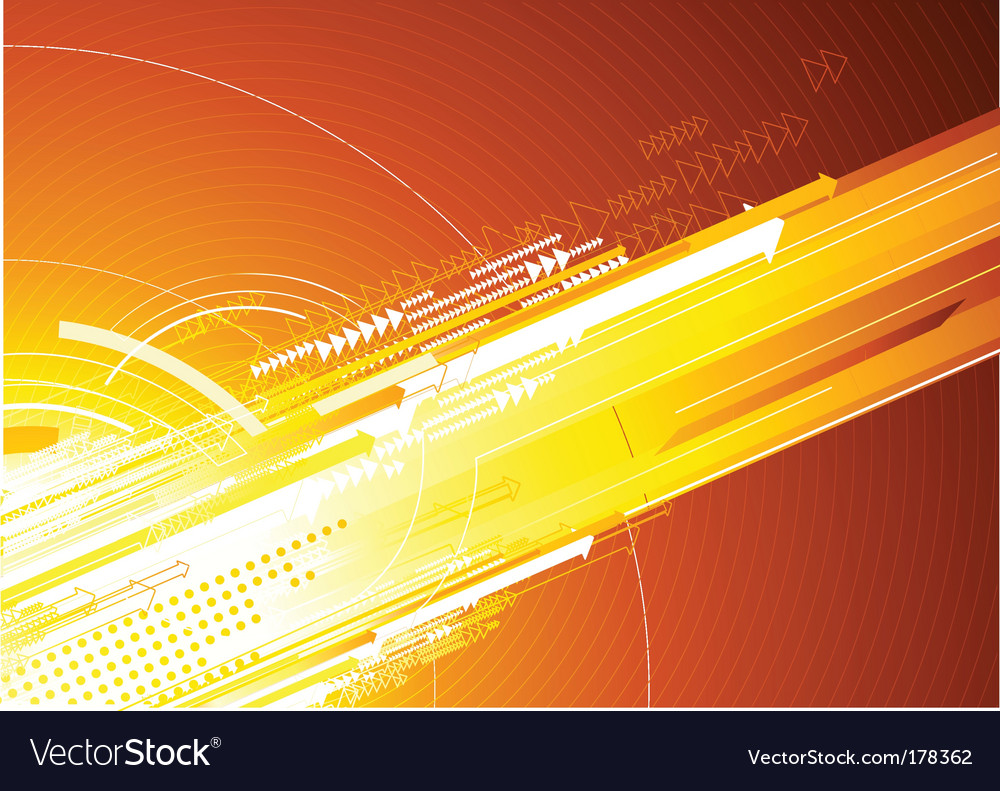 High Tech Background Royalty Free Vector Image