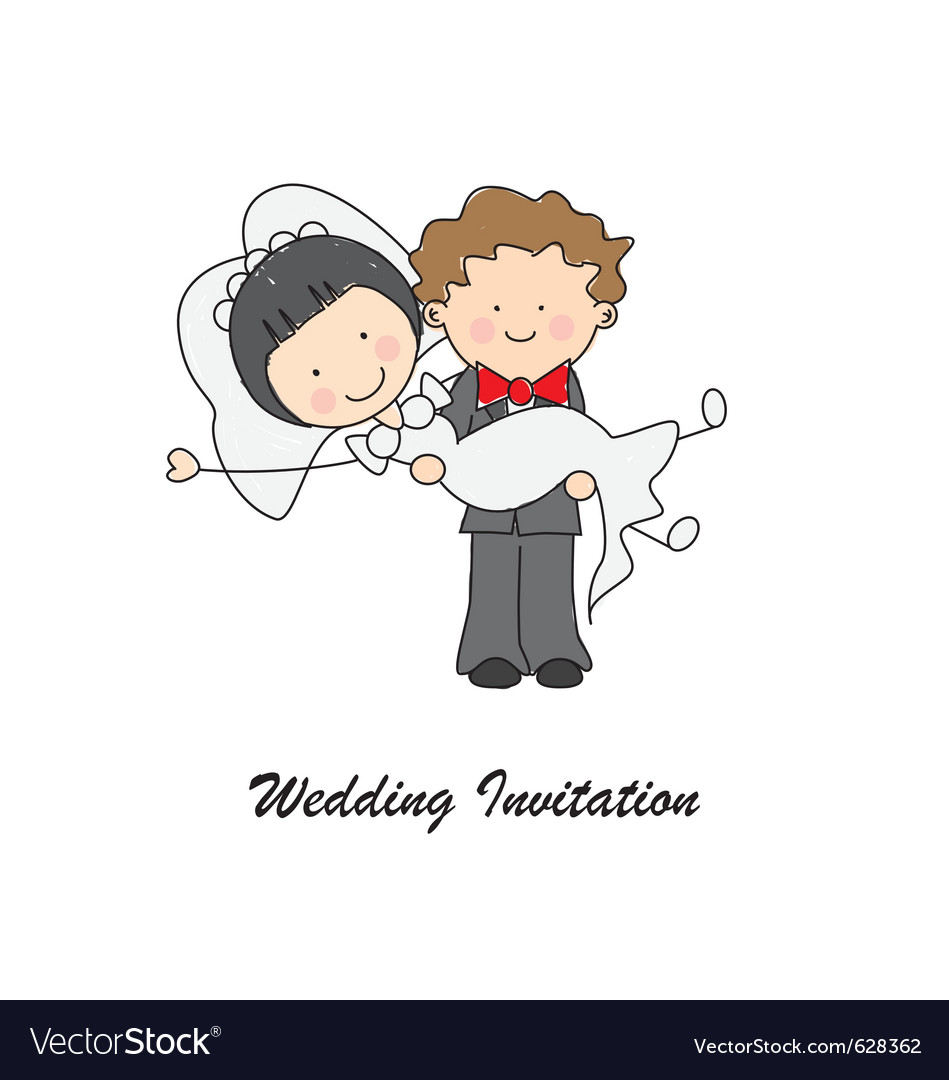 Just Married Royalty Free Vector Image