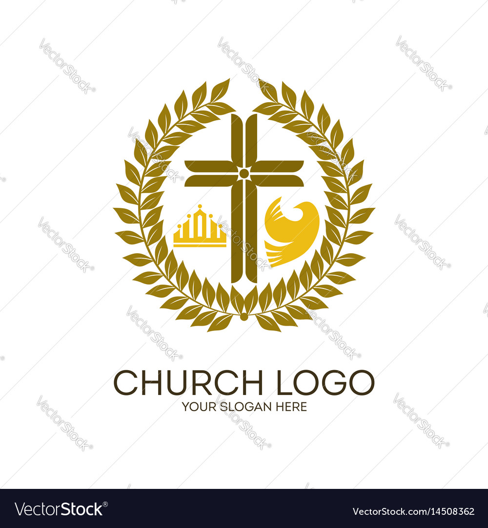 Wreath jesus cross crown and dove royalty free vector image wreath jesus cross crown and dove vector image altavistaventures Choice Image