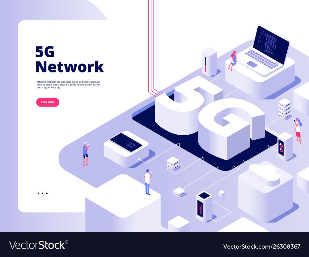 5g concept wifi telecom 5g technology speed