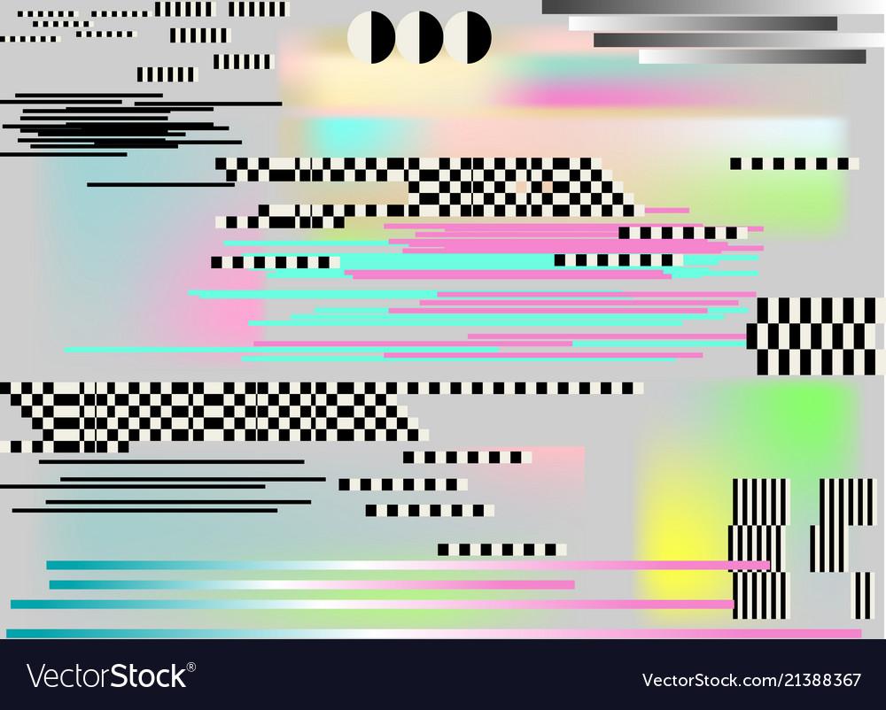 Glitch background art digital abstract pixel
