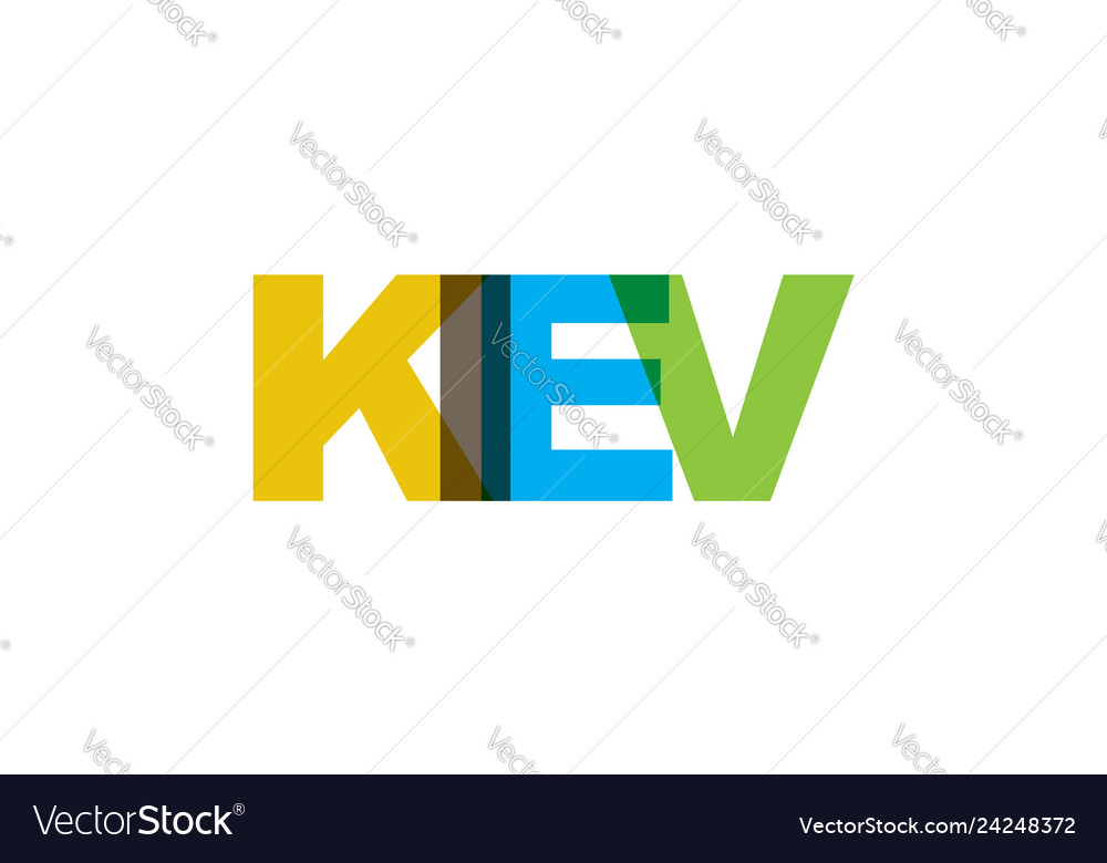 Kiev phrase overlap color no transparency concept